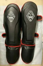 Shin Instep Guards MMA Kickboxing Judo Muay Thai Leg Support Protector Pad