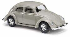 Busch 42715 ESCALA H0 VW ESCARABAJO CON VENTANA Pretzel, Gris # NUEVO