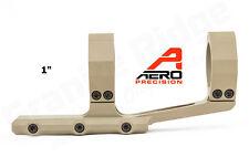"""Aero Precision Ultralight 1"""" Inch SPR Rifle Scope Mount APRA210710 FDE Cerakote"""