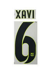 *14 / 15 - BARCELONA ; PLASTIC AWAY & 3rd KIT STYLE / XAVI 6 = ADULTS & KIDS*