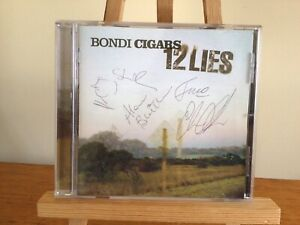 Bondi Cigars: 12 Lies (Thorny Devil 2003) CD Signed