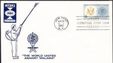 MALARIA Stamp 1194 Interpex New York City UO First Day Cover (H50)