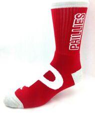 Philadelphia Phillies Red & Gray RMC Crush Deuce Crew Socks
