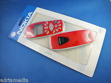 Original Nokia 3510 i 3510i Front Back Cover GameDesign Schale Tastatur Red Game
