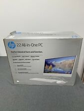 HP 22 All-in-one PC 22-df0003w White 4GB Win 10 Home NEW