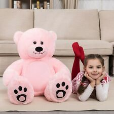 WOWMAX® 3 Foot Teddy Bear Giant Soft Stuffed Dolls Pink