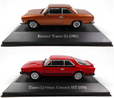 Lot de 2 Renault Torino + IKA 1/43 Voiture Miniature Diecast Model Car LAQV5