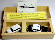 Corgi 2 Diecast police cars: Jaguar and Mini cooper, limited edition 1993