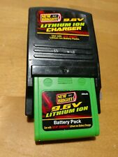 9.6V New Bright Rechargeable Battery Pack With Charger RC Lithium Ion