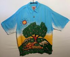 "MAMBO ""Beer Tree"" Hawaiian shirt UK 3XL US 2XL chest 54"" 137 cm HAM13 XXT"
