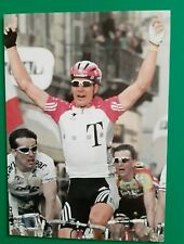 CYCLISME carte cycliste ERIK ZABEL équipe TELEKOM 1998