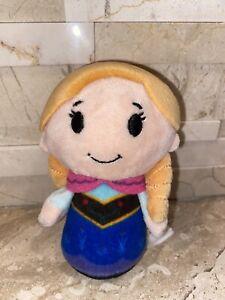Hallmark Itty Bitty plush stuffed Ana Anna Frozen ITTY BITTYS Disney 4.5'' doll