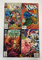Mixed Lot 4 Marvel 1994-1996 Uncanny X-Men Legion Quest FLIP BOOK Vengeance L44