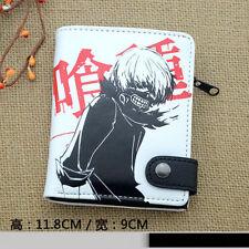 New Anime Tokyo Ghoul Wallet Kaneki Ken Cosplay Purse