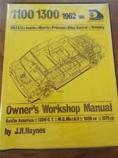 1971 Haynes Owners Workshop Manual Austin MORRIS PRINCESS RILEY KESTREL WOLSELEY