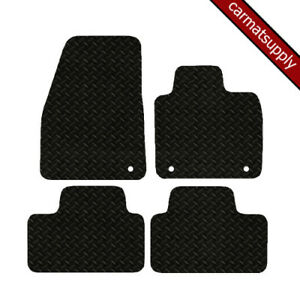Car Mats fits Volvo XC40 Auto 2018 on New Fully Tailored Black Heavy Duty Rubber
