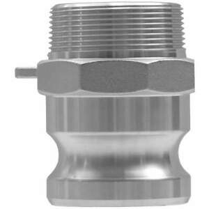 """DIXON VALVE & COUPLING G150-F-BR Cam and Groove Adapter,1-1/2"""",Brass"""