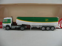 "Herpa 826121 Mercedes-Benz SK Tanksattelzug ""BP"" in weiß/grün 1:87/H0 NEU/OVP"