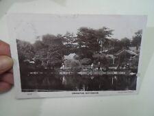 Vintage Real Photo Postcard ARBORETUM, NOTTINGHAM 66144 Franked+Stamped §A839