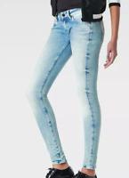 G-Star 3301 Low Waist Super Skinny Jeans Blue Ladies Size UK W32 L32 *REF142