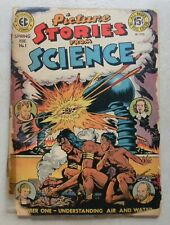 Picture Stories From Science #1 $30.00 (Spring 1947, EC) EARLY PRE-HORROR EC #1