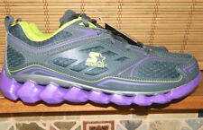 Girls STARTER athletic shoes-Size 5 grey/purple/green