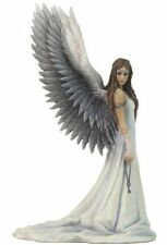 "9"" SPIRIT GUIDE Gothic Angel Statue Fairy Figurine Anne Stokes Figure Sculpture"