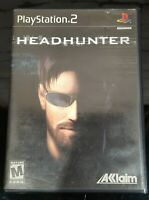 Headhunter PS2 (Playstation 2) CIB, Complete, Black Label - Tested & Working