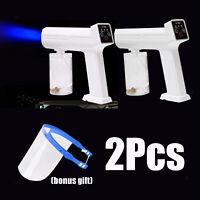 2x Electric USB Sanitizer Sprayer Disinfectant Fogger Mister Spray Gun White