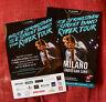 BRUCE SPRINGSTEEN 2016 THE RIVER TOUR MILANO flyer gatefold + promo INVITATION