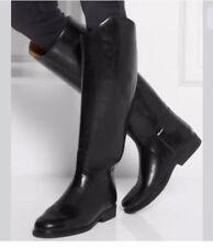 Sz 39 $500 Le Chameau Alezan Prestige Leather Lined Rubber Riding Boots