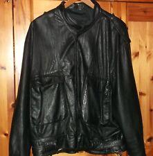 Edle Lederjacke, Blouson,schwarz, Vintage, Größe M , Echtleder