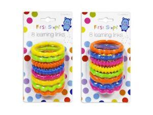 Baby Pipkin - 8 Learning Links Set - One Random Colour