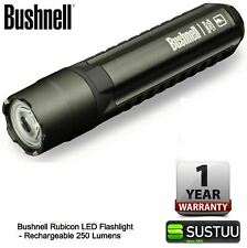 Bushnell 10R250ML Rubicon Cree LED Flashlight│Rechargeble 250 Lumens Torch│IPX-4
