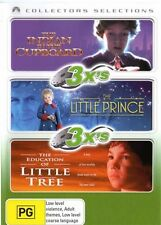 INDIAN IN THE CUPBOARD, THE / LITTLE PRINCE / EDUCATION OF LITTLE TREE 3DVD NEW