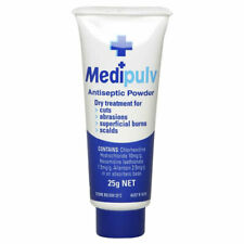 MEDI PULV ANTISEPTIC POWDER 25G FOR CUTS ABRASIONS SUPERFICIAL BURNS SCALDS