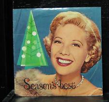 "Dinah Shore - Season's Best VG+ 7"" Vinyl 33 Record 1960 USA Chevrolet KB-2886"