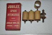 4 NOS Vtg Jubilee Ford? Tractor?  Car? Truck?  Spark Plug visible/intensifier