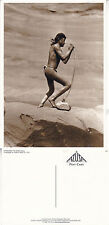 NORTH AMERICAN INDIANS STRINGING THE BOW NAVAJO UNUSED POSTCARD