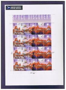 SPACE DISCOVERY  1997 PANE OF 20 .32 CENT STAMPS, ORIG PO PKG
