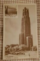 Cathedral of Learning University of Pittsburgh Pennsylvania Vintage Postcard