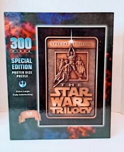 Star Wars Trilogy Puzzle Special Edition 300 Piece Poster Size 2x3 Feet Unopened