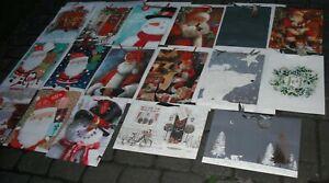 Christmas Santa Gift Bags x 3 EXTRA LARGE Luxury Cute Kids Children Present Xmas