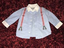 Baby Boy FAO Long Sleeve Button Up Size 6 Months