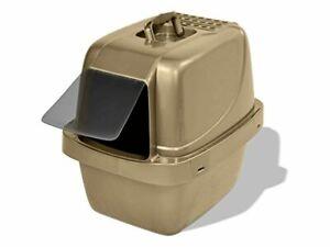 Van Ness CP66 Enclosed Sifting Cat Pan/Litter Box, Large