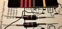 Pair of New Luxe .022 Bumblebee paper in oil capacitors for Les Paul SG ES335
