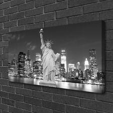 Leinwand-Bilder 100x50 Wandbild Canvas Kunstdruck Freiheitsstatue New York