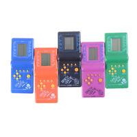 Kids Dazzling Toys Educational Tetris Brick Game Machine Christmas Gift