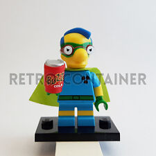 LEGO Minifigures - 1x sim032 - Milhouse Fallout Boy - Simpsons Omino Minifig