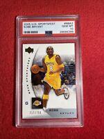 2005 UPPER DECK SPORTSFEST NBA2 KOBE BRYANT /750 PSA 10 🔥POP 9🔥 GOLD EMBLEM